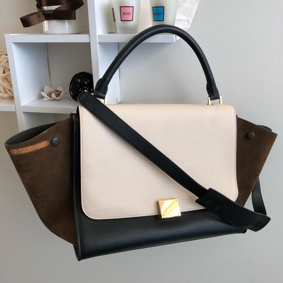91a2b322b1 Celine Handbags - 🎊Celine medium trapeze tricolor